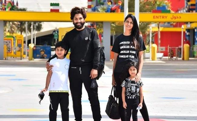 Sneha Reddy Shares A Cute Video From Holiday Trip In Dubai - Sakshi