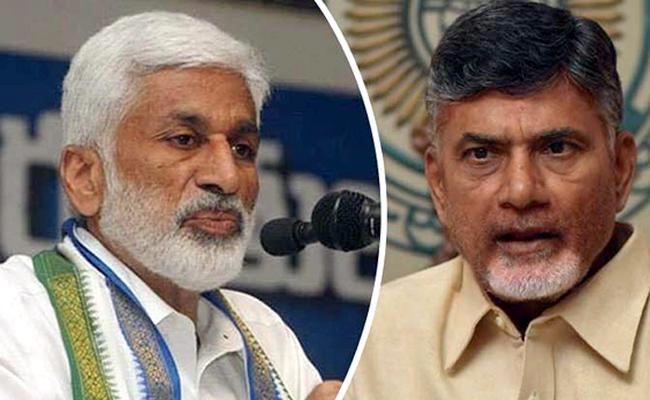 Vijaya Sai Reddy Slams Chandrababu Naidu Over Attack On BJP Leader - Sakshi