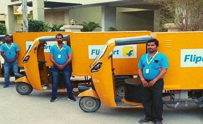 Flipkart to deploy 25,000 Electric Vehicles by 2030 - Sakshi