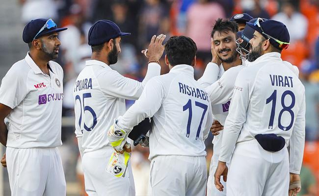 India Vs England Team India Won Pink Ball Test Tops WTC Table - Sakshi