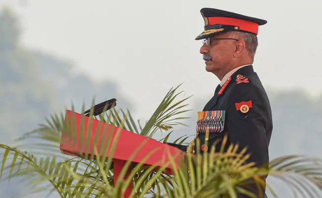 Army Chief MM Naravane Comments On South China Sea Strategy - Sakshi