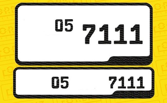 Initial Registration For New Fancy Number - Sakshi