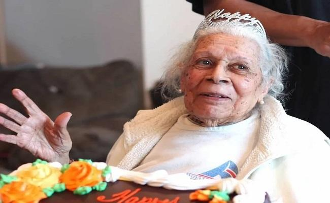 USA New Jersey 105 Year Old Woman Defeat Covid - Sakshi