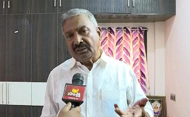 Minister Peddireddy Ramachandra Reddy Fires On Chandrababu - Sakshi