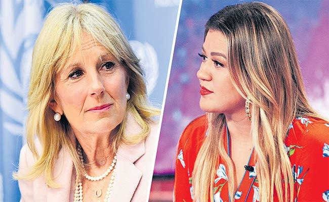 American First Lady Jill Biden Reveals Her Past Life In Kelly ClarkSon Show - Sakshi