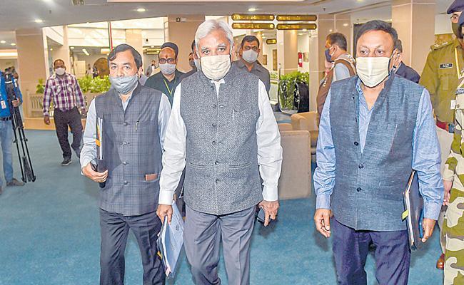 CEC Sunil Arora announced poll dates for five states - Sakshi