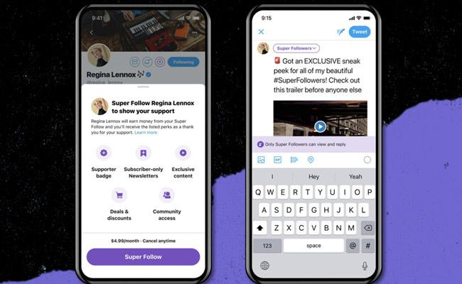 Twitter Announces Paid Super Follows to Let You Charge For Tweets - Sakshi