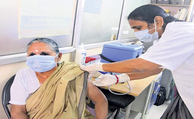 AP will have a large-scale Covid vaccination drive from March 1st - Sakshi