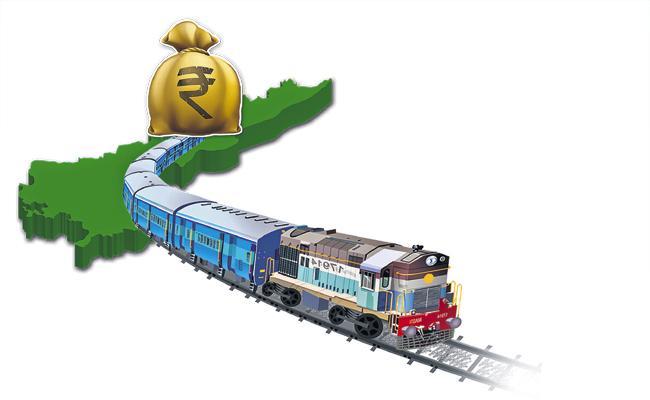 Above 1144 crore for Nadikudi-Srikalahasti railway line - Sakshi