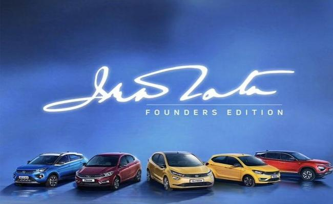 Tata Motors Launches Founders Edition Of All Its Models - Sakshi