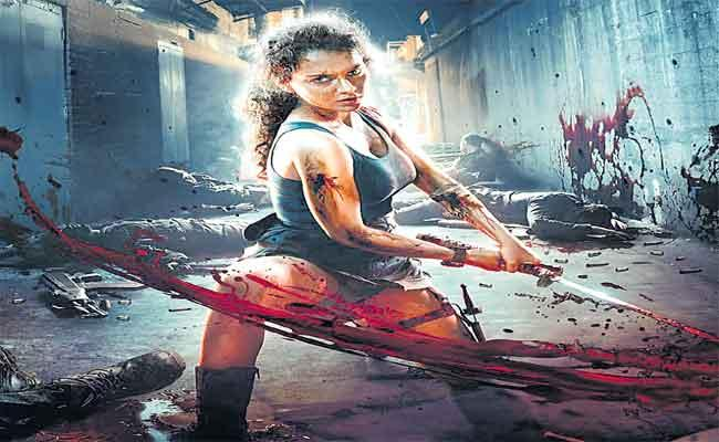 Kangana Ranaut Says 25 Crores Spent Action Sequence For Dhaakad - Sakshi