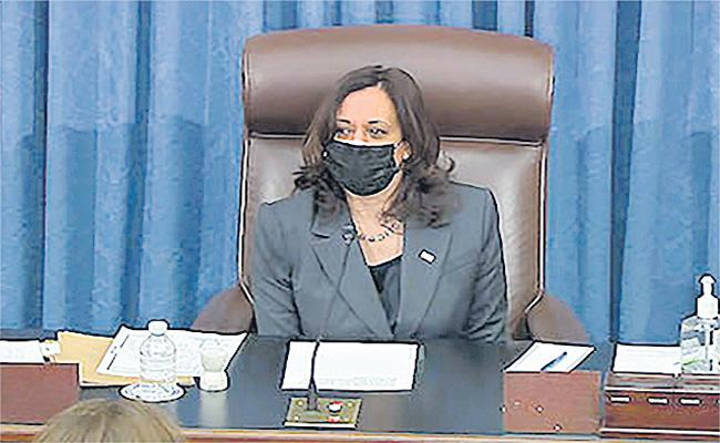 Senate approves budget to sideline GOP on Biden stimulus package - Sakshi