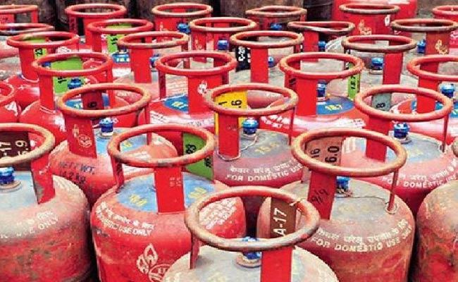 Gas Cylinder Rates Hike Again In India - Sakshi