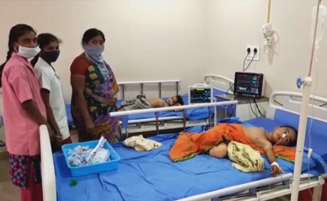 Deputy Sarpanch Family Suicide Attempt In Khammam - Sakshi