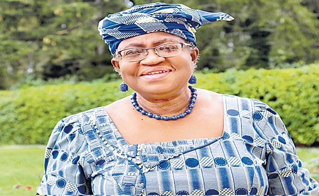 Nigeria Ngozi Okonjo-Iweala set for WTO leadership - Sakshi