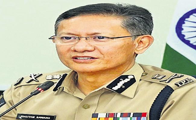 Police provide security for the four-phase election - Sakshi