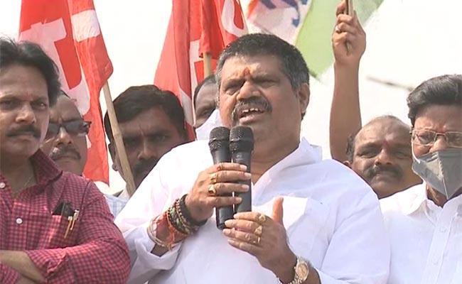 Minister Avanthi Srinivas Fires On BJP - Sakshi
