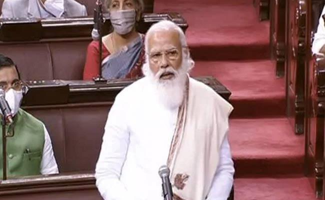 pm modi praised ghulam Nabi Azad In rajya Sabha - Sakshi