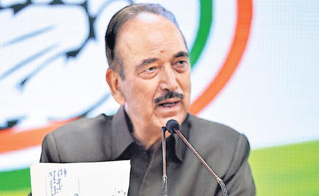 Ghulam Nabi Azad praises PM Narendra Modi - Sakshi