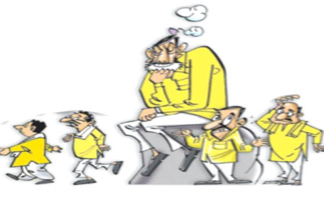 TDP Leaders Are Not Interested In Contesting Municipal Elections - Sakshi