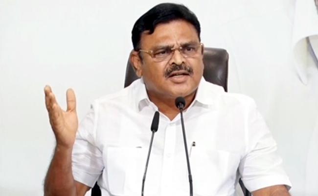 Ambati Rambabu Slams On Chandrababu Over Tirupati Airport Drama - Sakshi