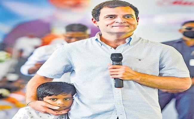 Rahul Gandhi Slams Narendra Modi In Tamil Nadu - Sakshi