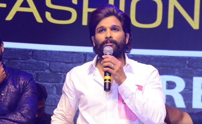 Allu Arjun Attended As A Guest For Chaavu kaburu Challaga Pre Release Event - Sakshi