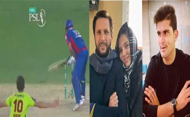 Video Of Shaheen Afridi Dismissing Shahid Afridi Goes Viral Hit Song - Sakshi