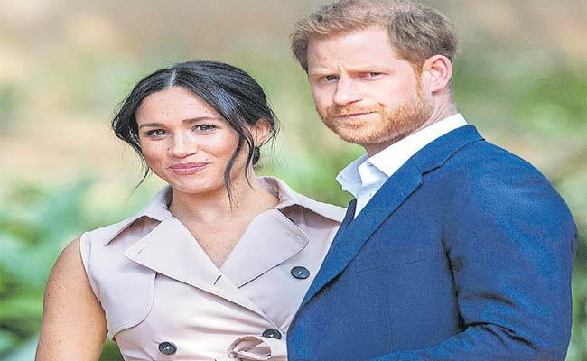 Meghan And Harry Interview: Racism Drove Us From Royal Family - Sakshi