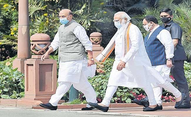 PM Narendra Modi to launch Amrut Mahotsav on March 12  - Sakshi