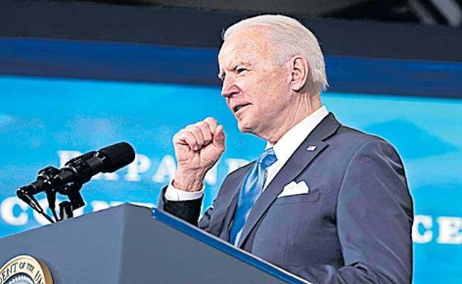 USA President Joe Biden Announces American Rescue Plan - Sakshi
