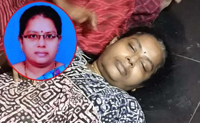 Sachivalayam Woman Police Commit Suicide In Prakasam - Sakshi