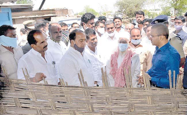 Bhainsa Incidents Unfortunate Says TS Minister Indrakaran Reddy - Sakshi
