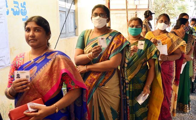 AP Teachers MLC Elections Polling More Than 92 Percentage - Sakshi