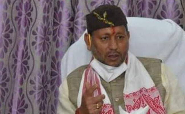 Like Lord Rama PM Modi Will Also Be Treated As God One Day Says Uttarakhand CM Tirath Singh rawat - Sakshi