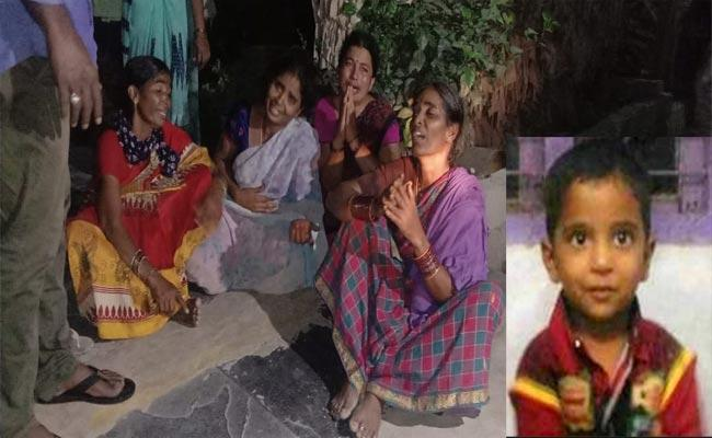Tadepalli: 6 Year Old Boy Who Missing From Sunday Found Dead Suspiciously - Sakshi