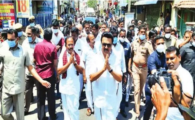 Tamil Nadu Assembly Elections 2021 ABP Survey Favour In DMK - Sakshi