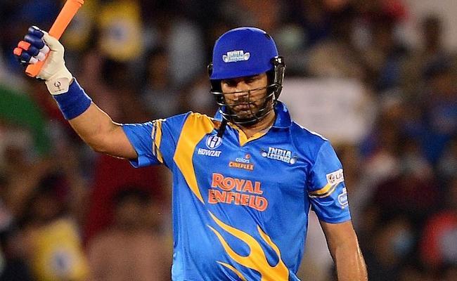 India Legends Beat West Indies Legends To Enter Final - Sakshi