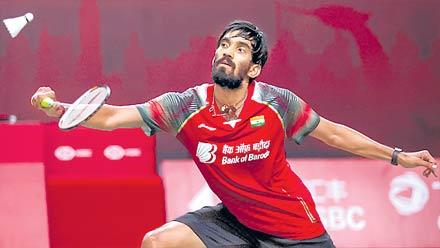 Kasyap And Srikanth Fallout From First Round All England Open - Sakshi