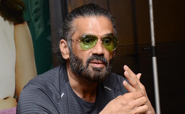 Sunil Shetty Speech At Mosagallu Movie - Sakshi
