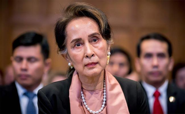 Myanmar Ousted Leader Suu Kyi Faces New Corruption Charge - Sakshi