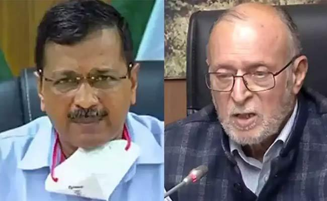 Editorial On NCT Bill 2021 And Centre Virus Delhi Government - Sakshi