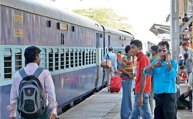 SCR Give Permissions To Kolhapur to Nagpur Train - Sakshi