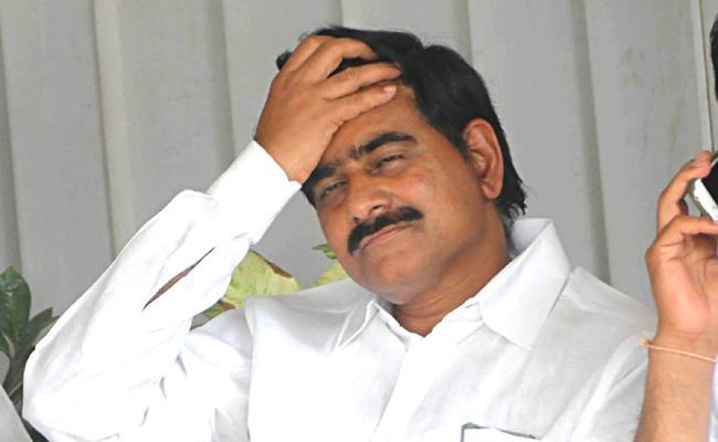Shock To Former Minister Devineni Uma - Sakshi