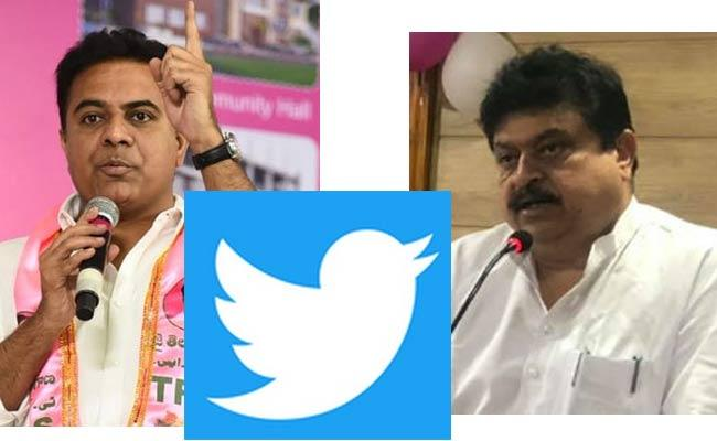 Twitter War On Minister KTR, Ramachandra Rao - Sakshi