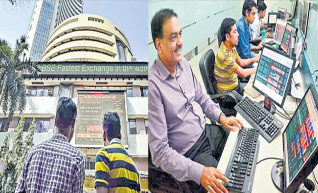 Sensex jumps 750 points and Nifty ends above 14,750 - Sakshi