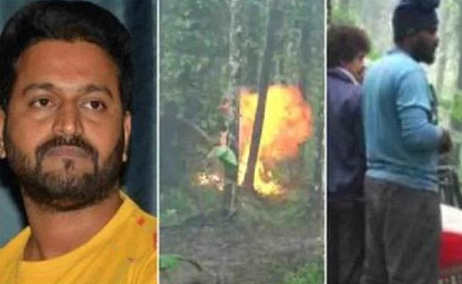 Rishab Shetty Injured In Fire Accident On The Sets Of Hero Movie - Sakshi