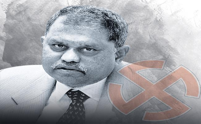 Nimmagadda Ramesh Kumar is not interested to conduct ZPTC and MPTC Elections - Sakshi