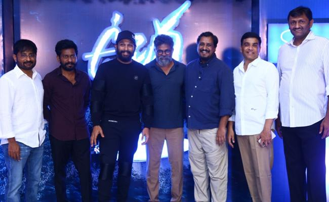 Chiranjeevi And Allu Arjun Attend Success Party Of Uppena - Sakshi