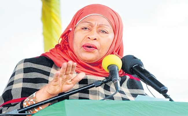 Samia Suluhu Hassan becomes Tanzania first woman President - Sakshi